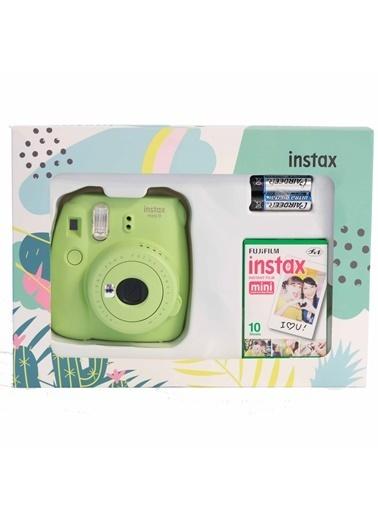 Fujifilm Instax Mini 9 Yeşil Mini Kit Yeşil